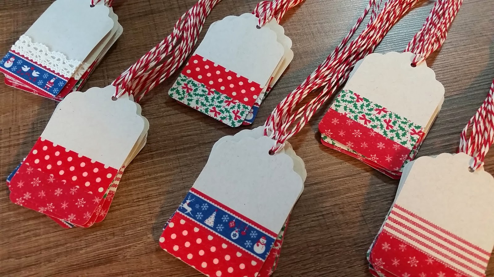 Artesanal Ou Artesanato ~ Rosa Pimenta Tags artesanais para fazer bonito neste Natal!