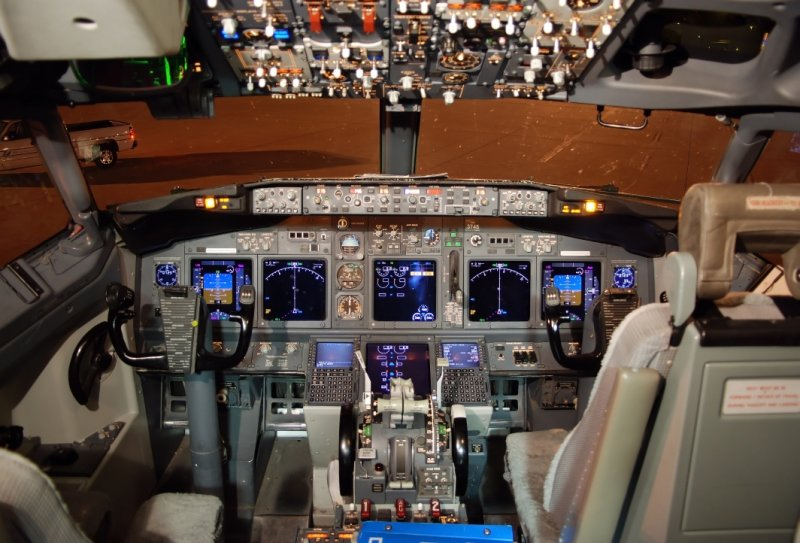 Cool Jet Airlines Boeing 737 800 Cockpit