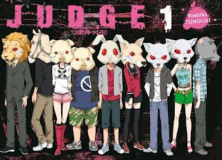 critique de Judge de Yoshiki Tonogai. Chronique du manga de chez Ki-oon. Thriller en huit clos sur les péchés capitaux. Après Doubt