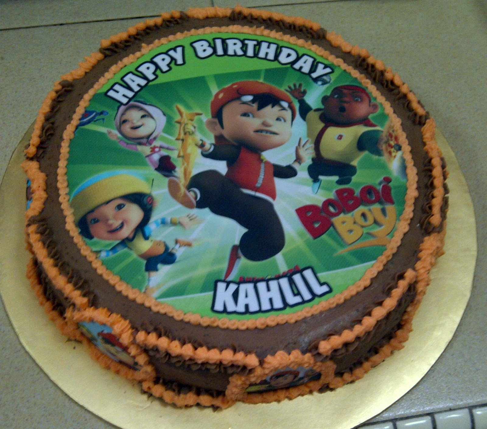 Birthday Cake Ki Images : Yazzy Bakes: Happy Birthday Khalil!