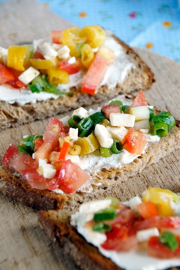 schnelles Rezept mit Brot