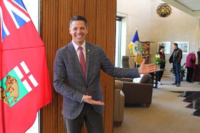 For the first time ever, Winnipeg's Mayor opened his doors for Doors Open Winnipeg!