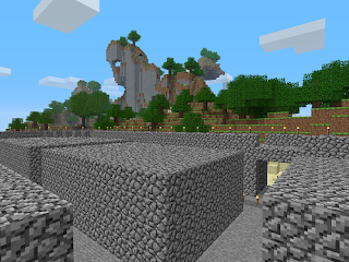 Minecraft gameplay screenshot!