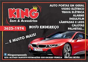 KING SOM AGORA EM NOVO ENDEREÇO