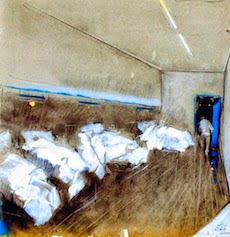 I disegni di Giancarlo Vitali all'ospedale Manzoni di Lecco