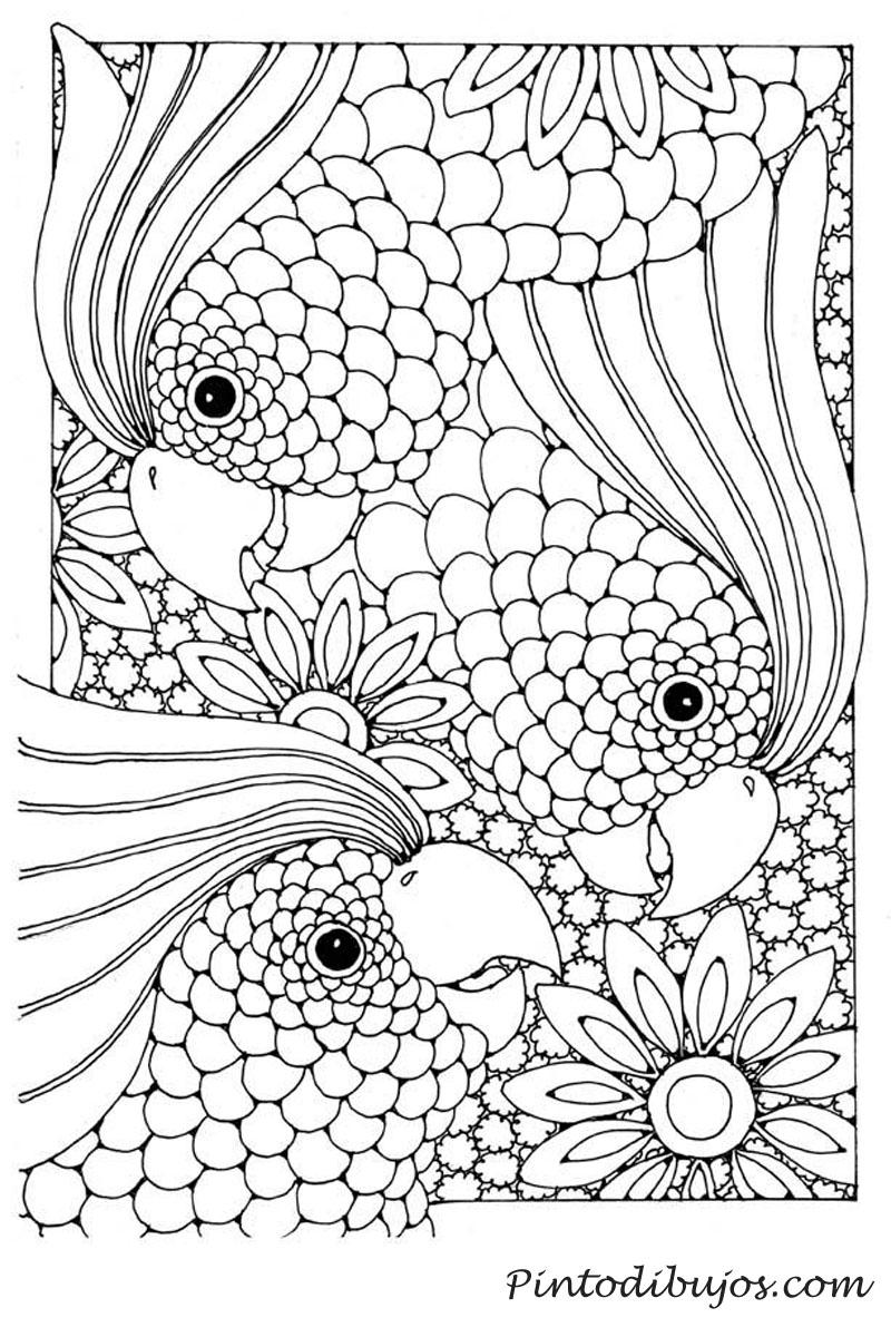 Dibujo dificil para colorear | Dibujo dificil para colorear