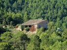 Detall de la Casa Gran de Bellveí des de la zona de Sant Andreu