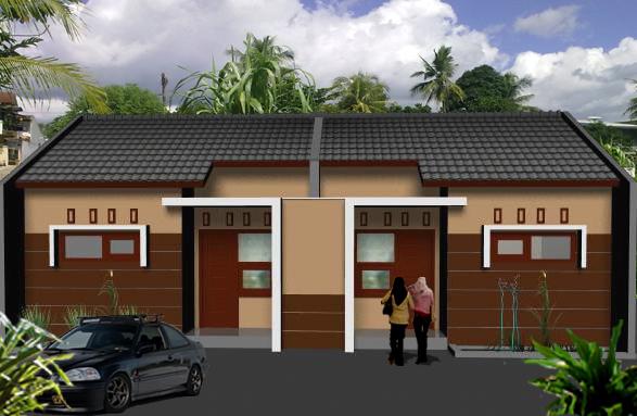 Design Exterior Rumah Minimalis Petak