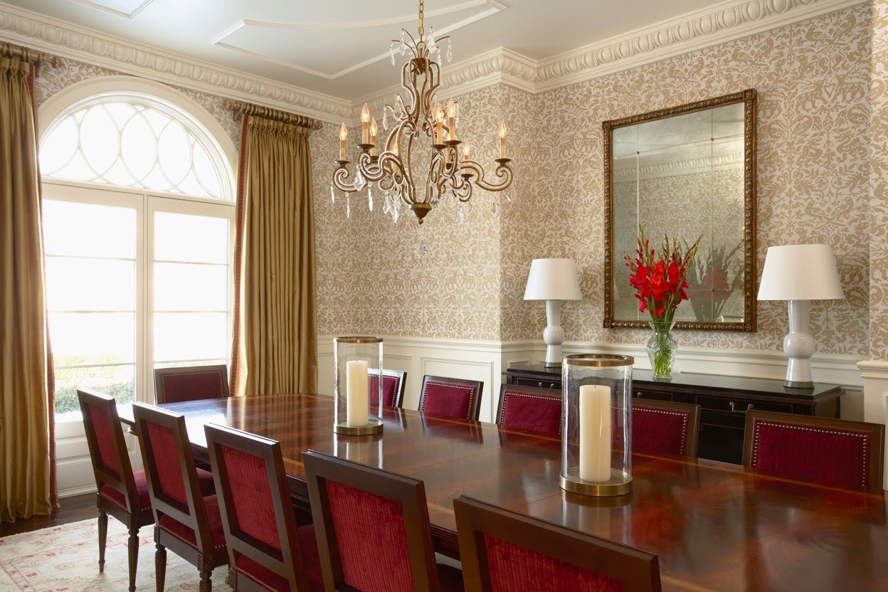 dining room wallpaper pattern designs ideas