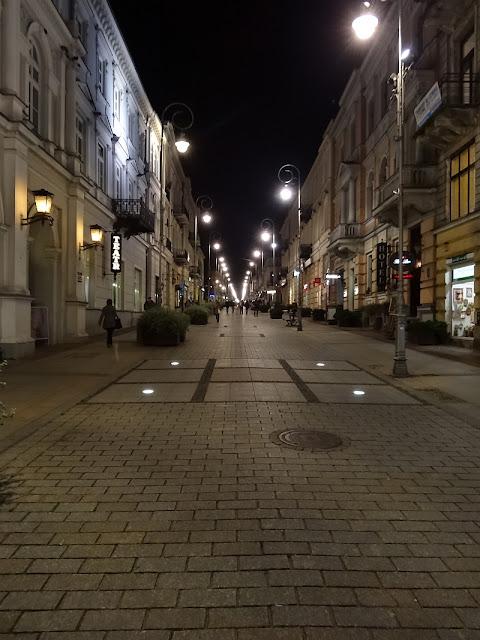 Sienkiewicza nocą