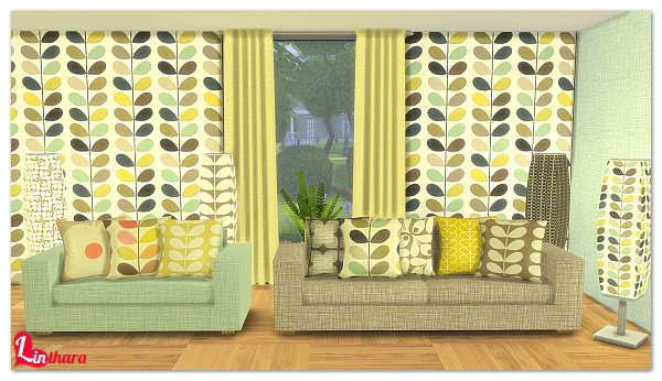 My sims 4 blog wallpaper living room curtains pillows and more
