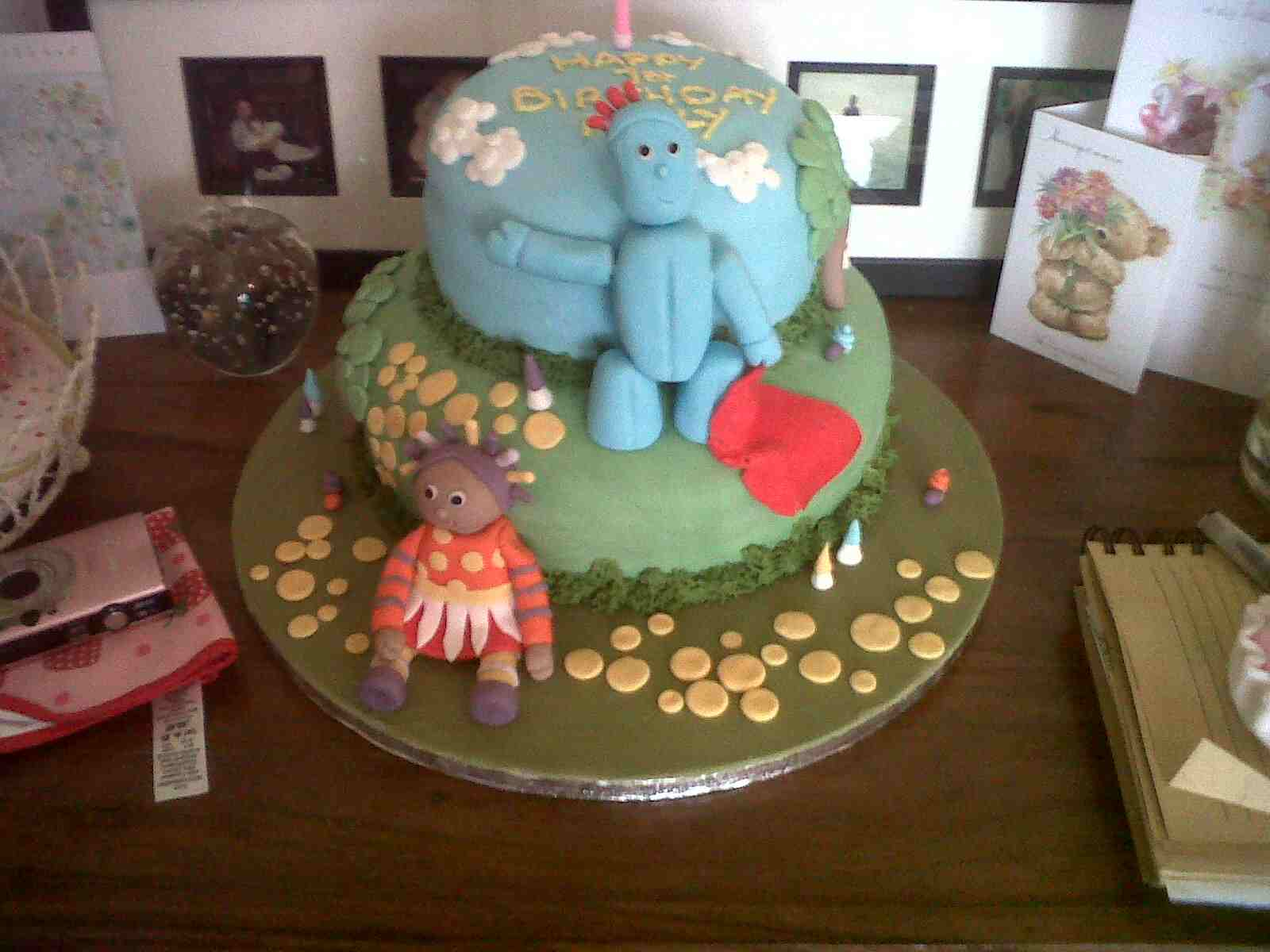 Pitcher Perfect Cakes In The Night Garden 1st Birthday Cake