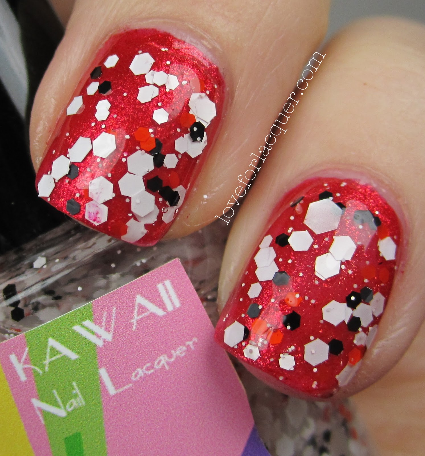 Kawaii Nail Lacquer - Peppermint Pattie & Frosty Remix Swatches ...