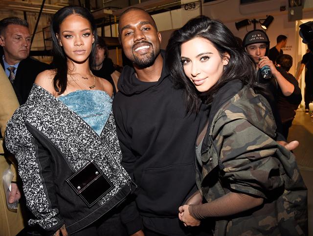 Rihanna, Kanye West, Nicki Minaj y más artistas se apoderan de la Semana de la Moda de Nueva York.