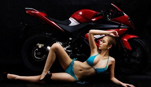 Angela Phuong Trinh bikini with moto - sexy girl viet nam ~ JAV Photo ...