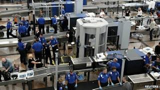 Зона безопасности в аэропорту