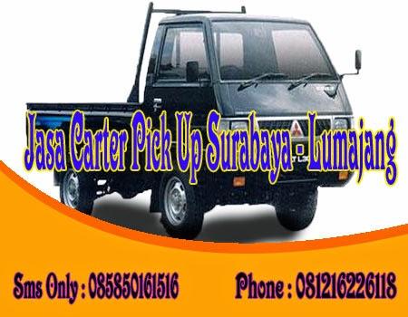 Jasa Carter Pick Up Surabaya - Lumajang