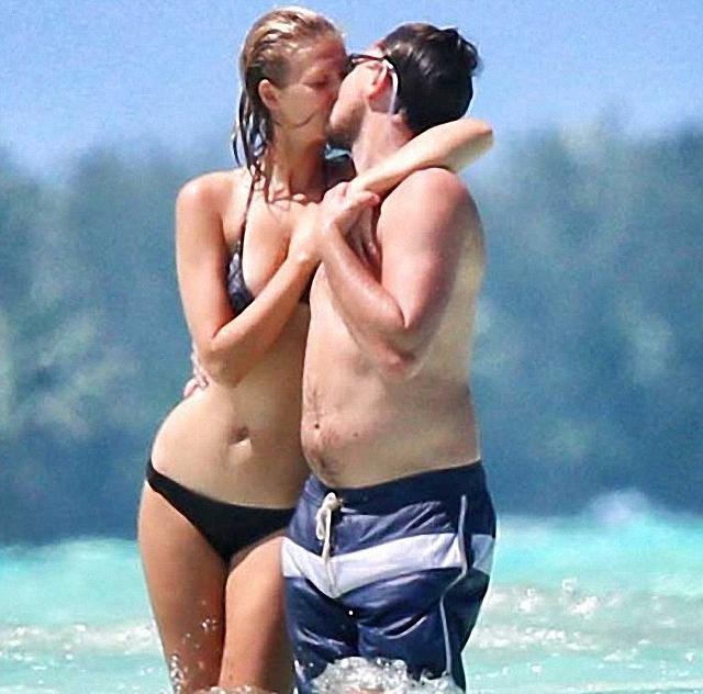 Leonardo DiCaprio goza con su pareja