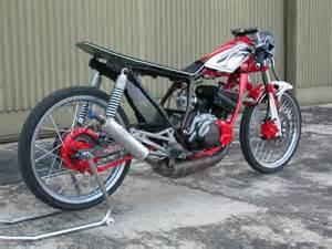 Itulah beberapa gambar mengenai Modifikasi Motor Yamaha RX Z semoga  title=