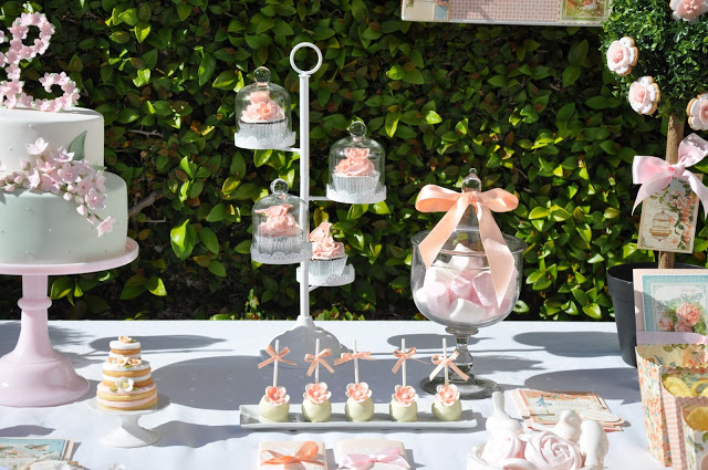 festa jardim secreto:Tudo Simples e Decorado: Inspiração – Festa Jardim Secreto