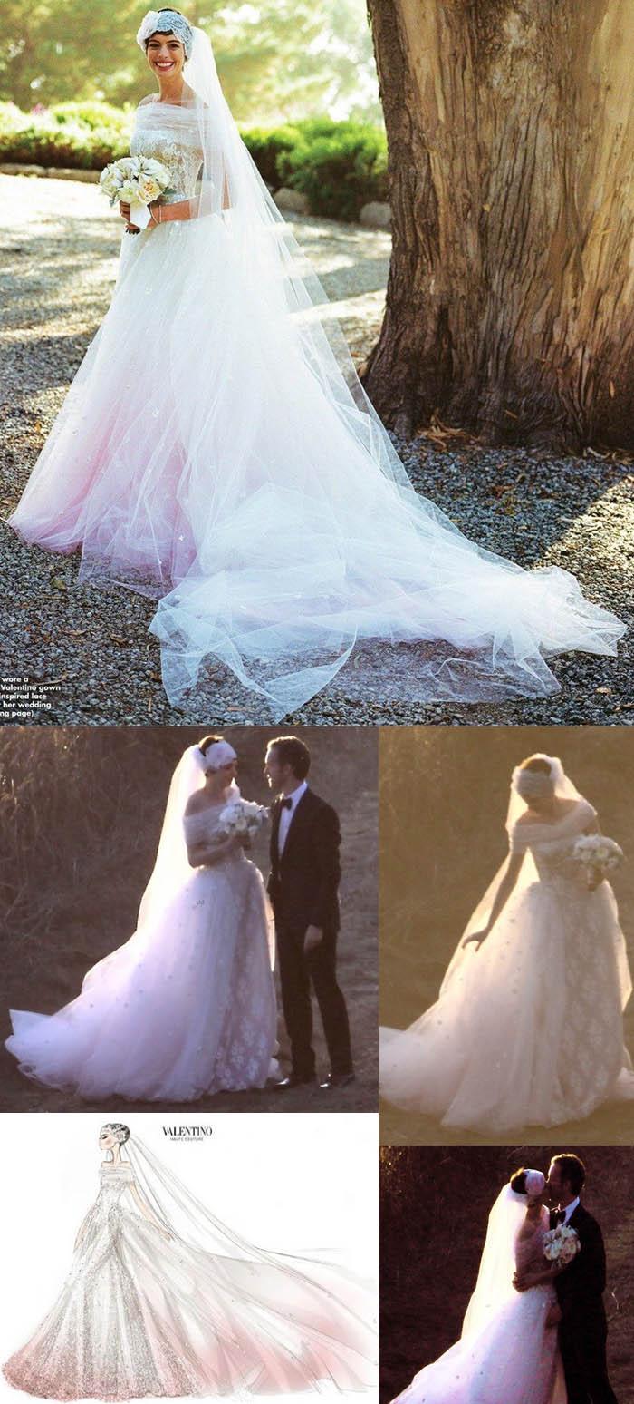 O CASAMENTO DOS SONHOS_Anne Hathaway_Oscar_oscar 2012_red carpet_convite de casamento_bolos de casamento_vestidos de noiva_valentino_decoração casamento