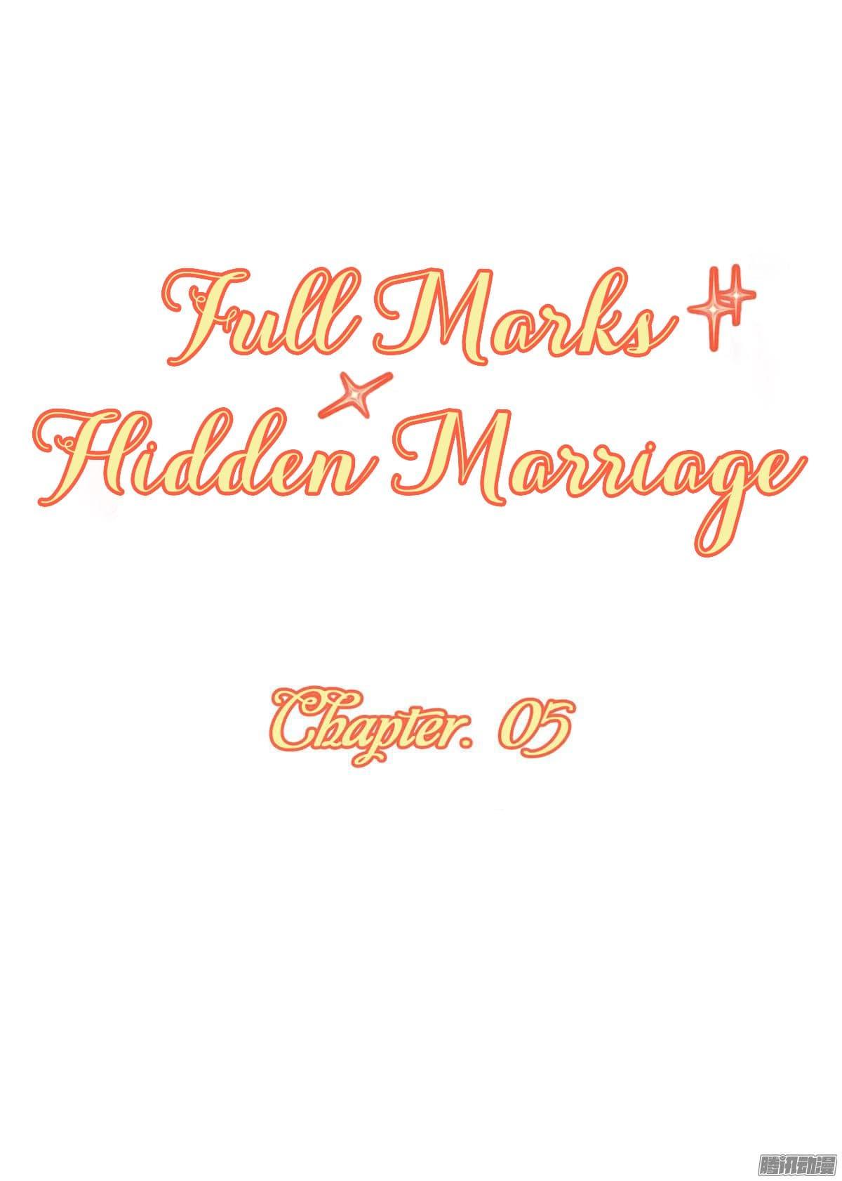Full Marks, Hidden Marriage-ตอนที่ 5