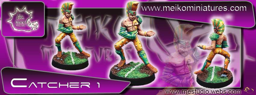 Wood Elves / Elves - Catcher nº 1 - Meiko Miniatures