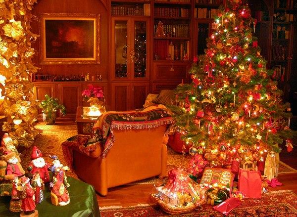 foto divertenti atmosfera natalizia in casa
