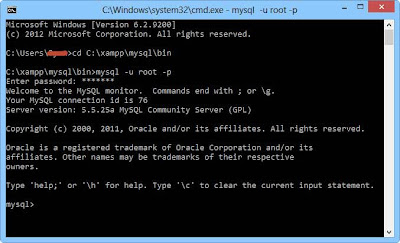 Tutorial MySQL Menggunakan XAMPP