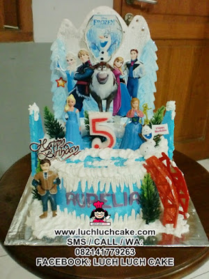 Kue Tart Frozen Princess Disney Daerah Surabaya - Sidoarjo