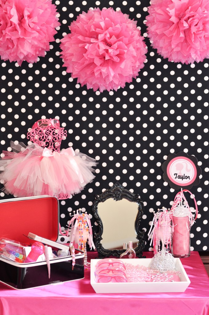 Barbie party decoraci n de fiestas de cumplea os for Decoracion de eventos