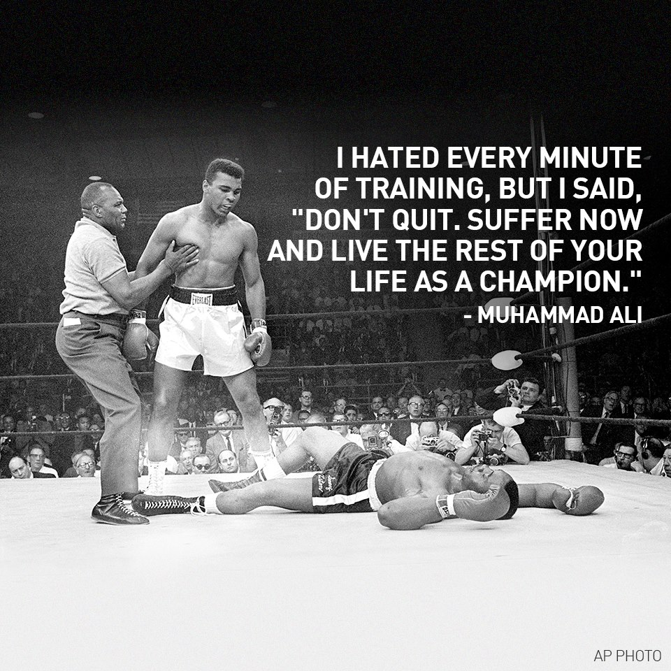 Muhammad Ali Life Quotes