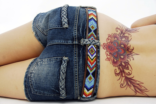 Tattoos Lower Back