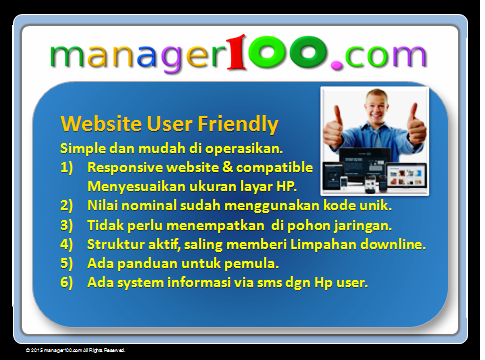 website user frendly