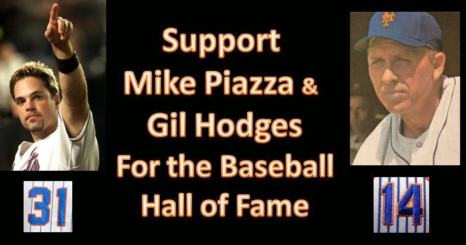 Piazza & Hodges for Cooperstown