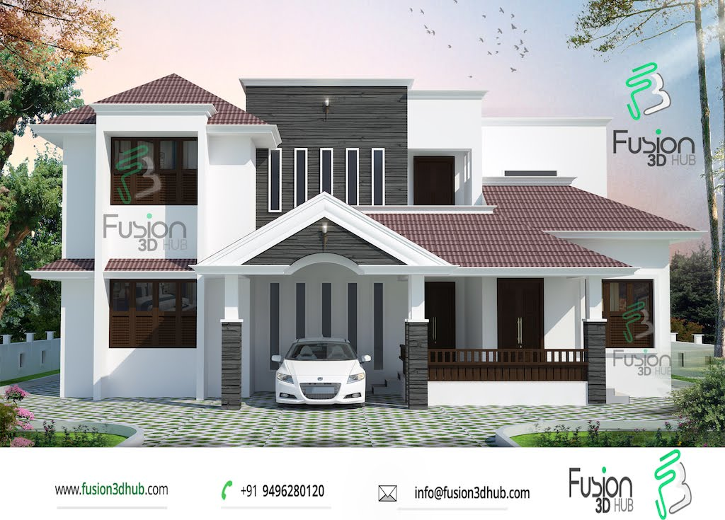 4 Bedroom House Plans Indian Style Indian Home Design