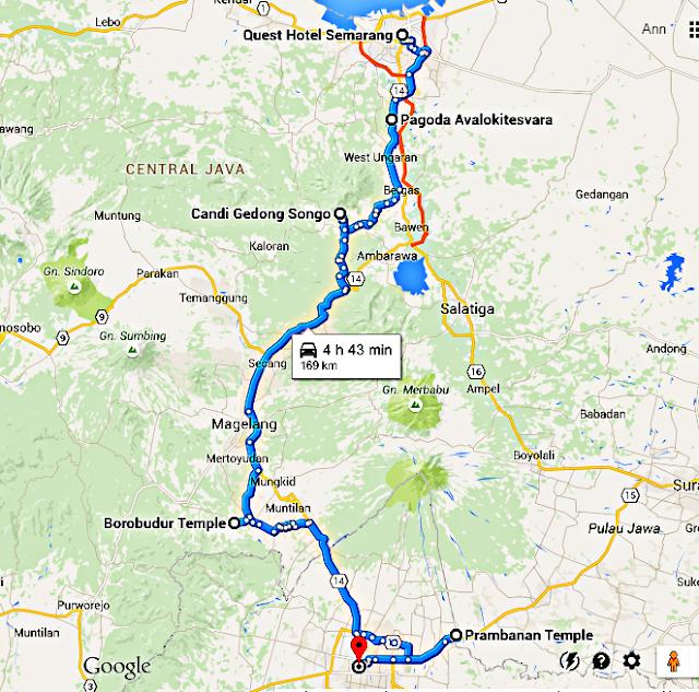 Semarang to Yogyakarta: 1 day itinerary (Gedong Songo, Borobudur and Prambanan)