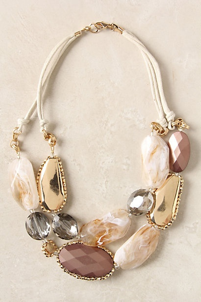 Chunky necklace for women