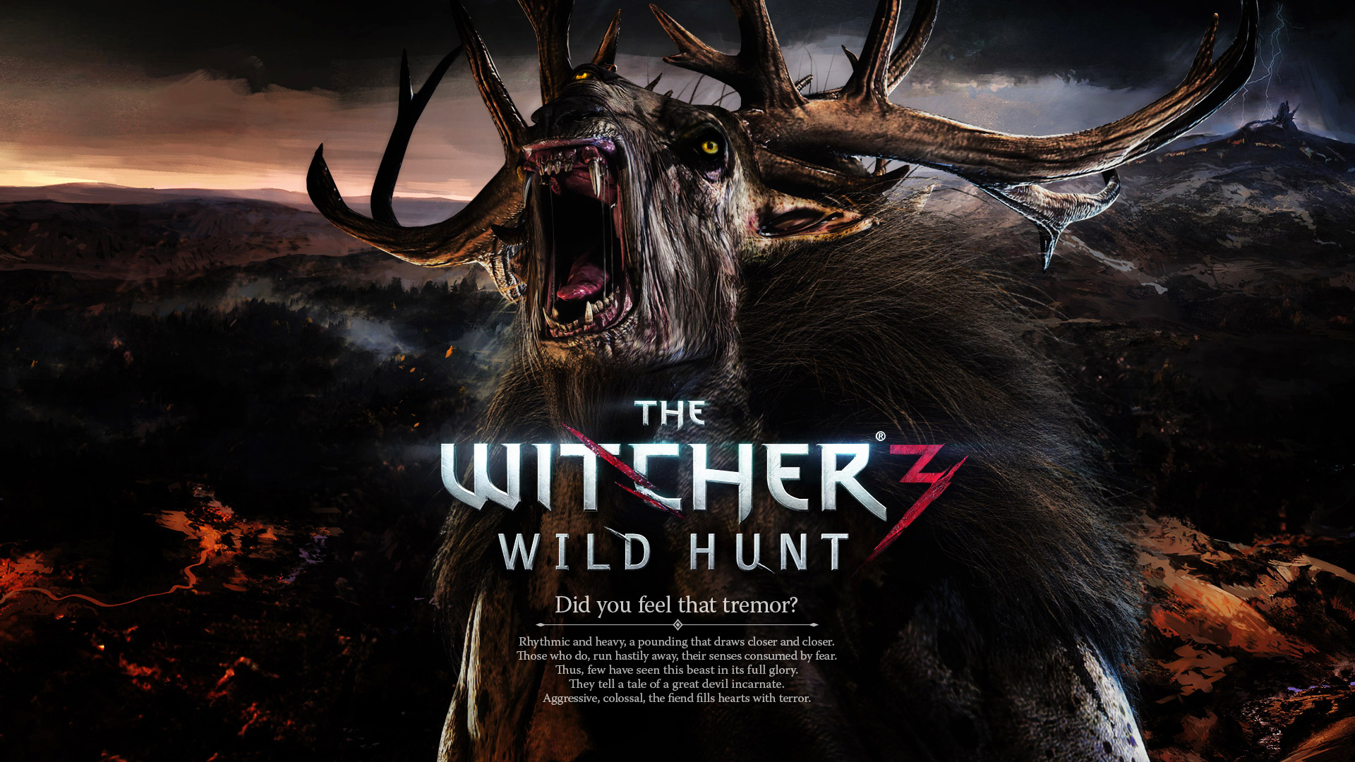 The Witcher 3 Wild Hunt Game Monster