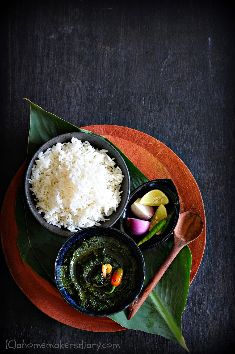 Lau Pata Bata (Spicy Bottle Gourd leaves Paste) and foraging
