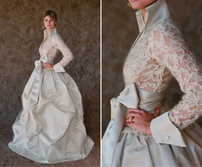 dress of the week winter wedding dresses belle the With chocolate wedding dress