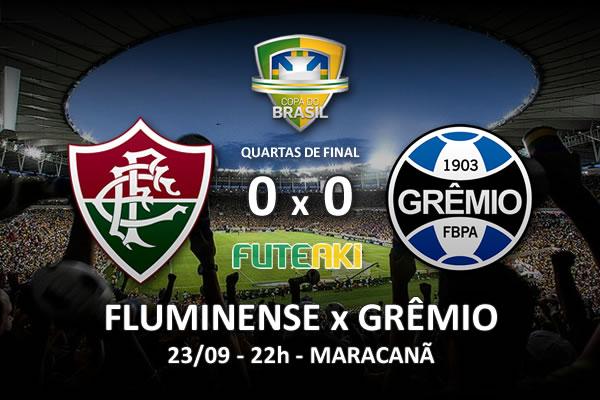 Veja o resumo da partida com os melhores momentos de Grêmio 0x0 Fluminense pelas quartas de final da Copa do Brasil 2015.
