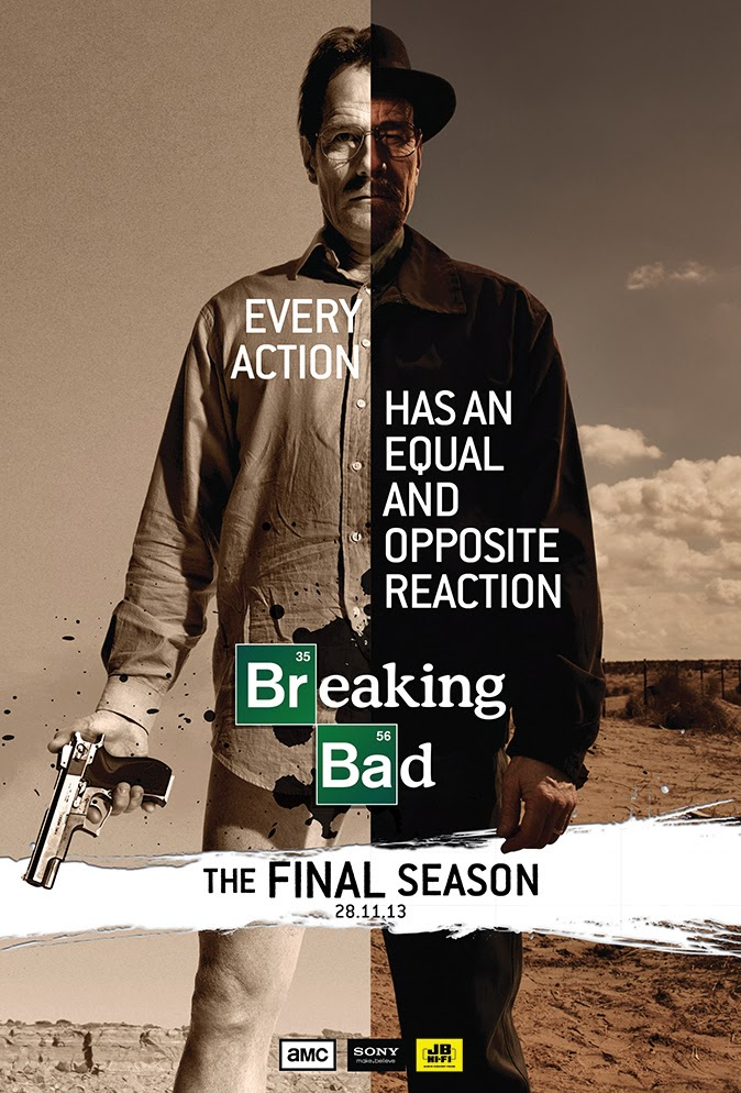 The Art And Design Of Damian K Sheiles Breaking Bad Poster Design