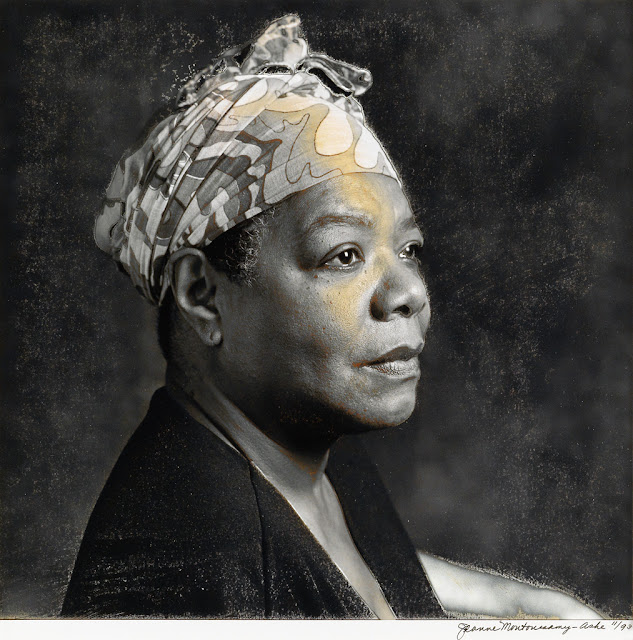 Maya Angelou by Jean Moutoussamy-Ashe