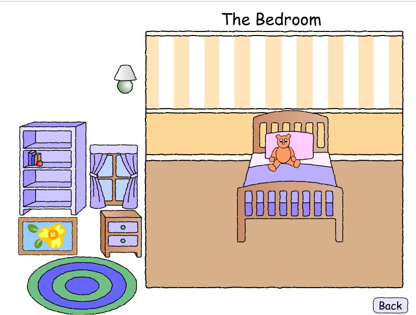 juegos sencillos educacion especial las habitaciones