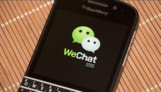 WeChat Mobile apps for Blackberry