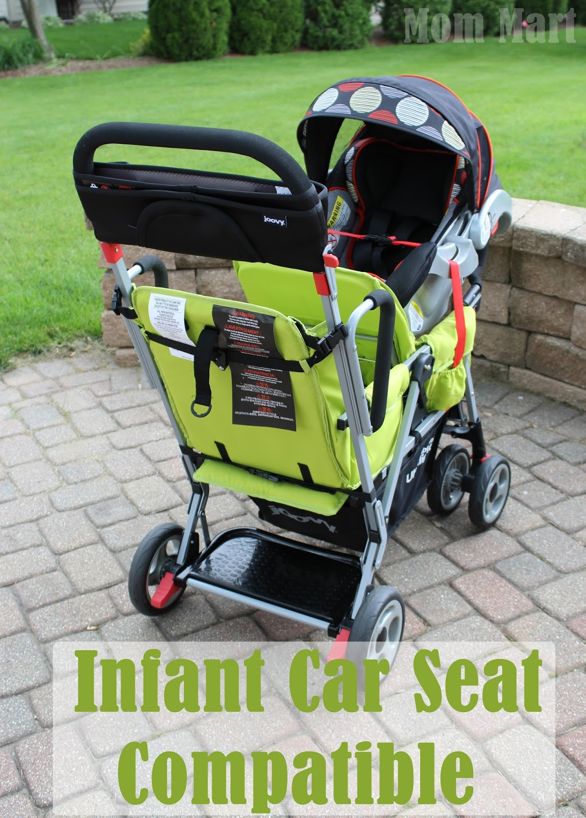 Mom Mart: Joovy Caboose Too Ultralight Stand-On Tandem Stroller Review