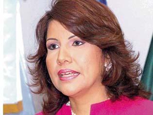 Primera Dama rehúsa hablar del caso Marcos Martínez