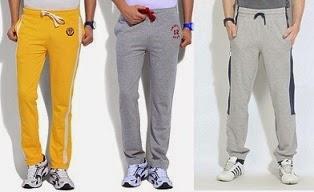 Men's Branded Track-Pants / Lowers Minimum 50% Off @ Flipkart