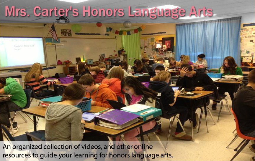 Mrs.Carter's HLA